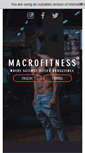 Mobile Preview of macrofitness.net