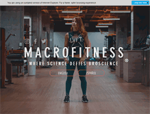 Tablet Preview of macrofitness.net